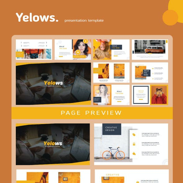 Yelows PowerPoint Templates