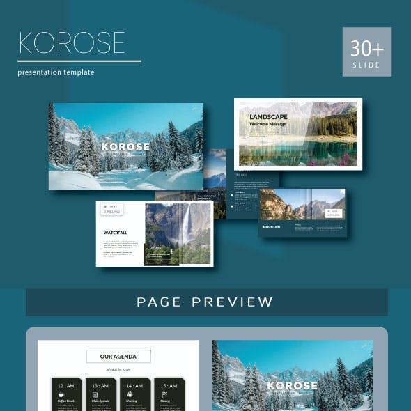 Korose Powerpoint Templates
