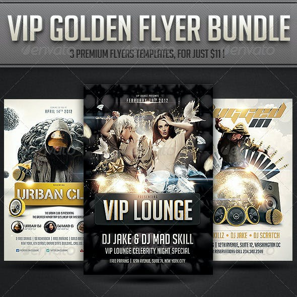 VIP Golden flyer Bundle
