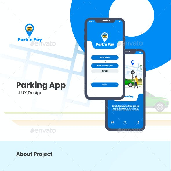 Park'n Pay Mobile Application