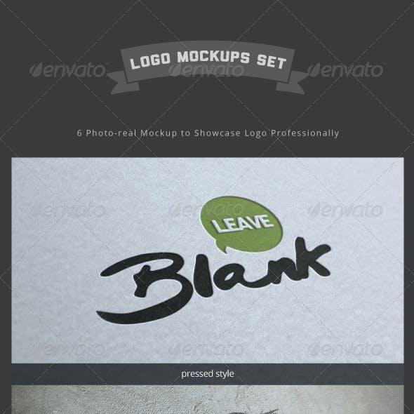 Logo Mockup Set