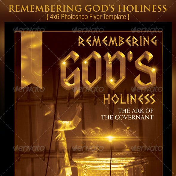 Holiness Church Flyer Template