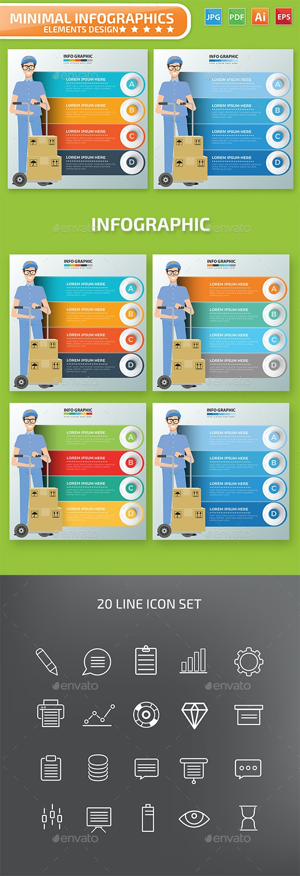 Delivery Infographics - Infographics