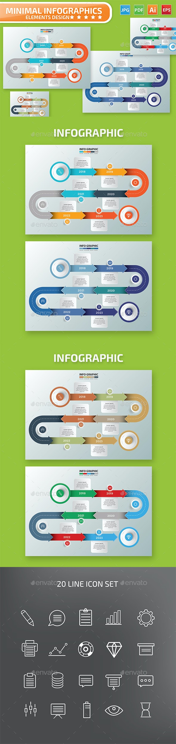 Timeline Infographic Design - Infographics