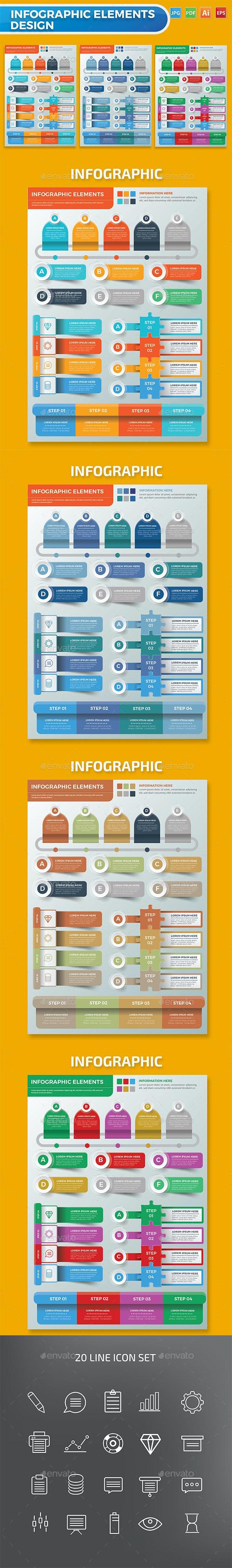 Infographic Elements Design - Infographics