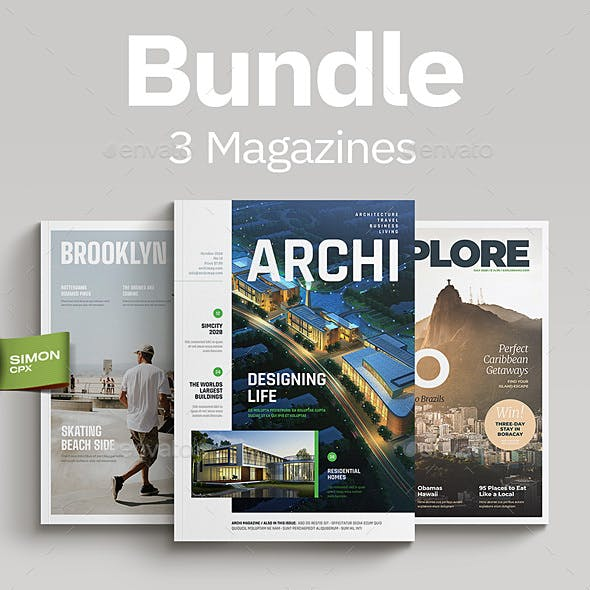 Magazine Bundle Vol. 4-5-6