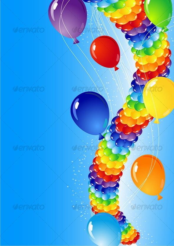 Balloons - Objects Vectors