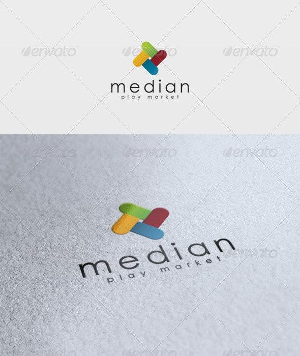 Median Logo - Vector Abstract