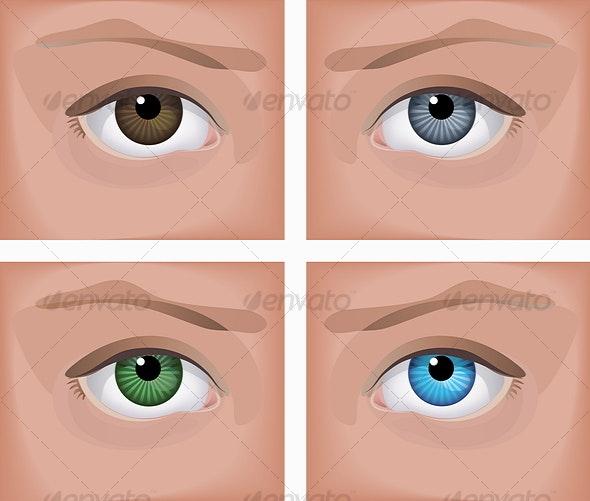 Eyes - Abstract Conceptual