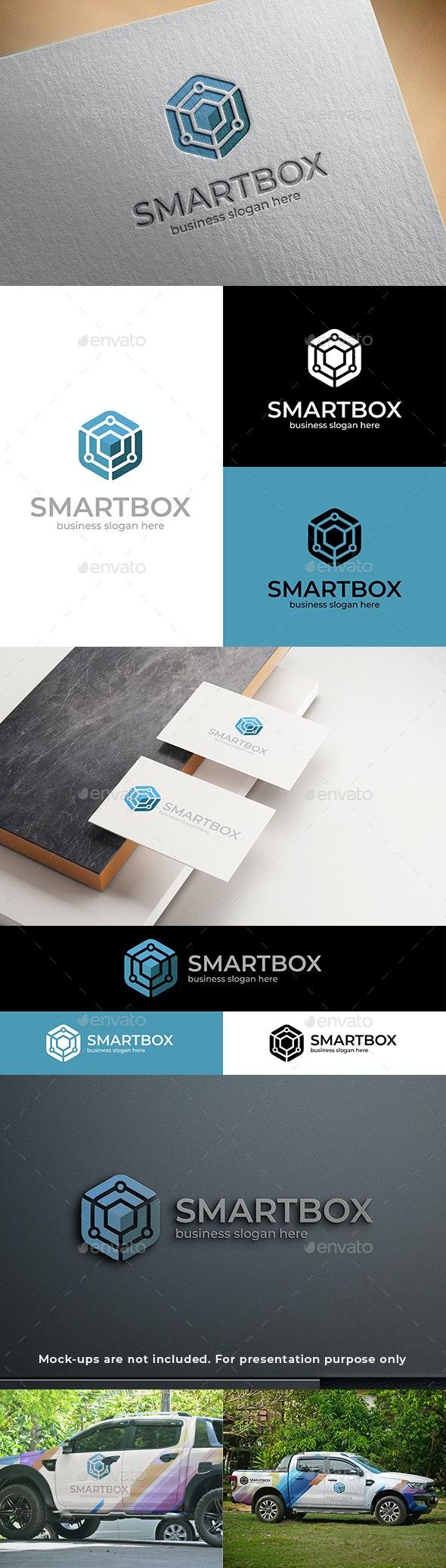 Smart Box Cube Logo - Abstract Logo Templates