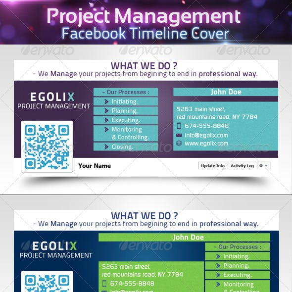 Project Management - Facebook Timeline Cover