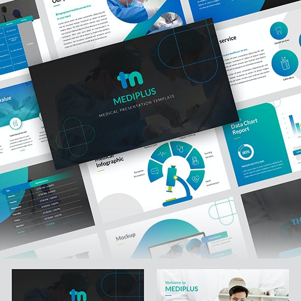 MEDIPLUS – Medical PowerPoint Template
