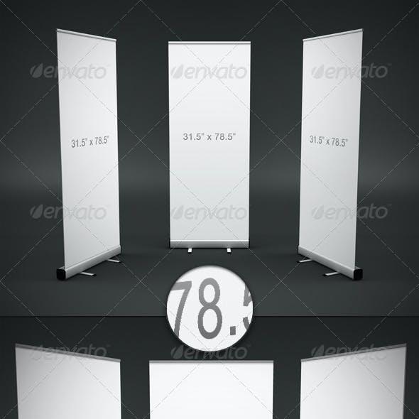 Banner Display Mockup
