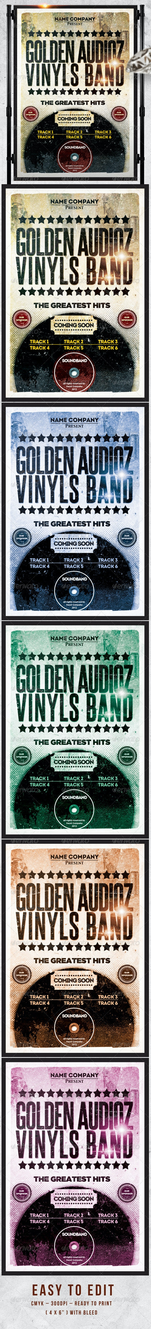 Golden Odioz  Flayer  Template  - Events Flyers