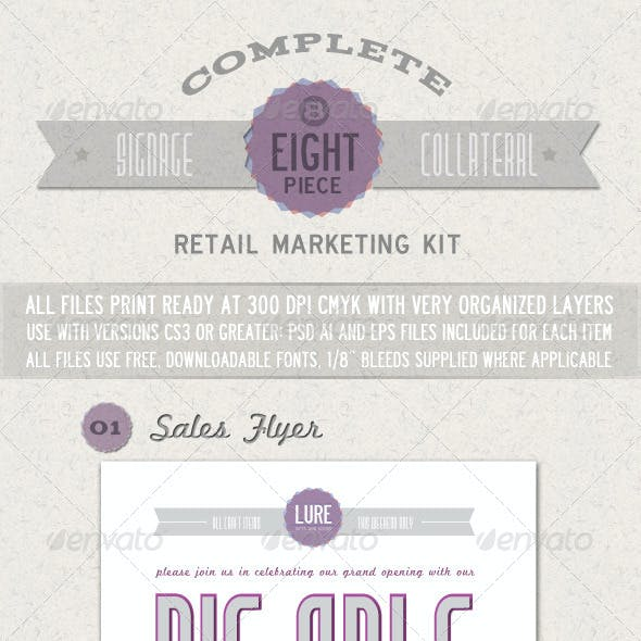 Complete Retail Marketing Kit