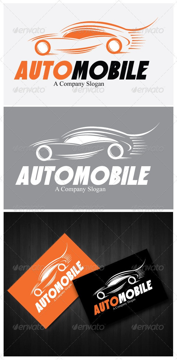 Automobile Logo Template - Objects Logo Templates