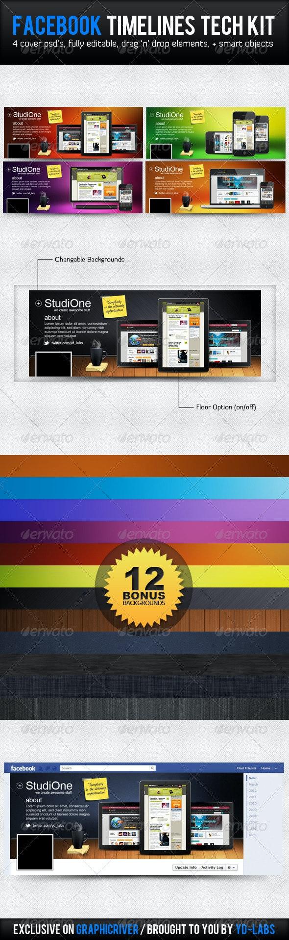 Facebook Tech Kit - Facebook Timeline Covers Social Media