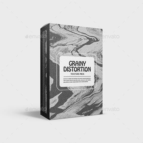 Grainy Distortion Textures - Vol. 01