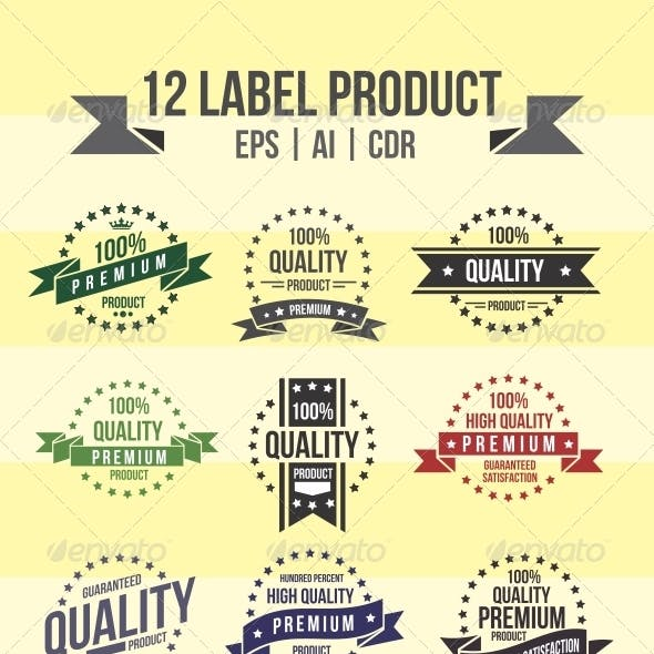 12 Label Product
