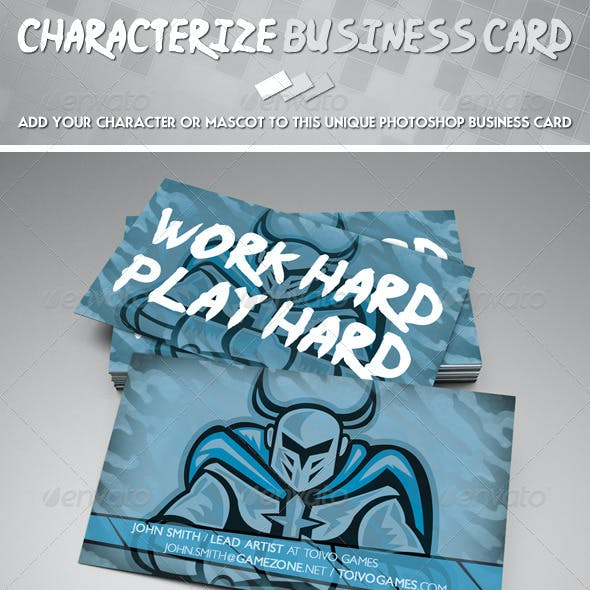 Characterize Business Card