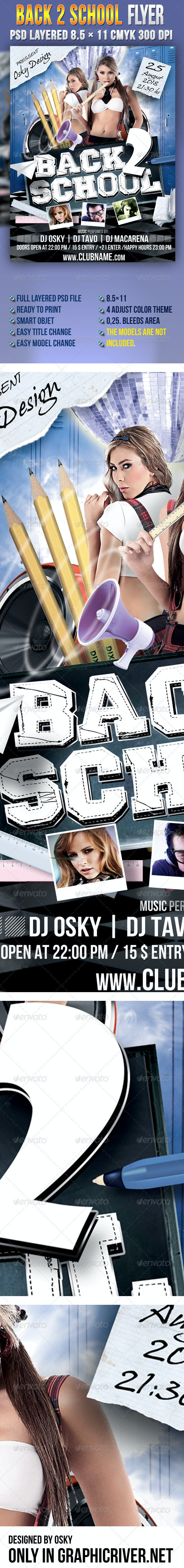 Back 2 School IV - Clubs & Parties Events
