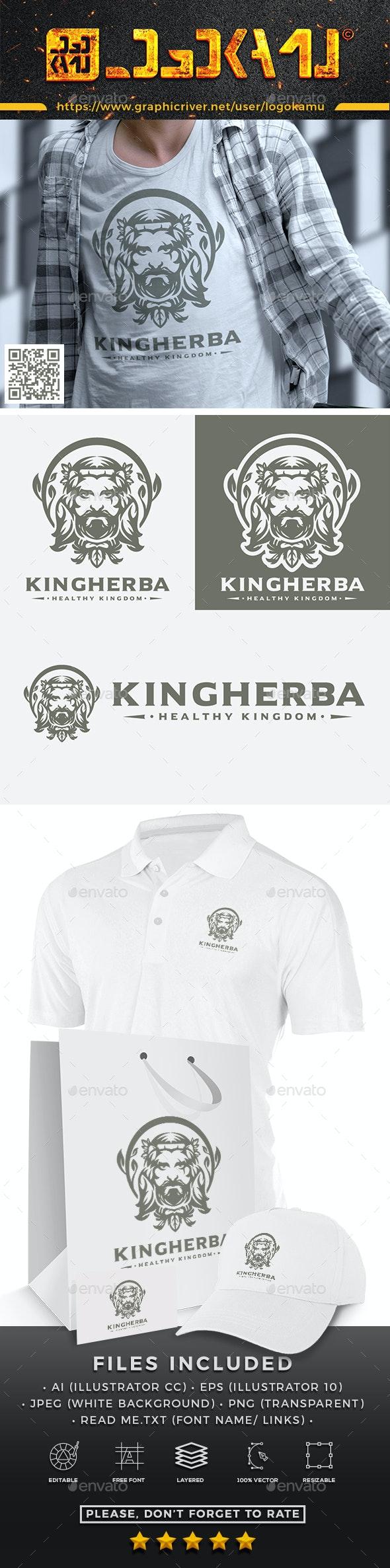 Herbal King Logo - Humans Logo Templates
