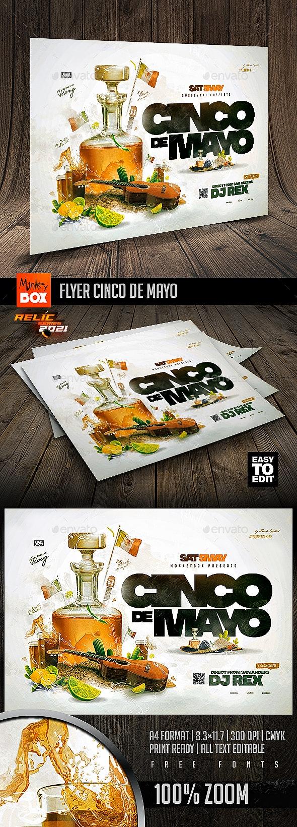 Flyer Cinco De Mayo - Events Flyers