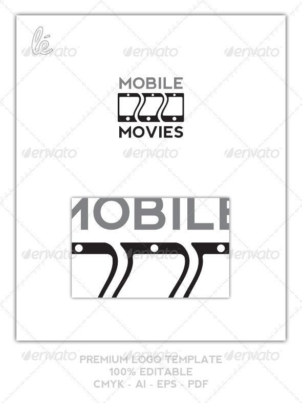 Film App Logo - Mobile Films Logo - Movies Logo - Objects Logo Templates