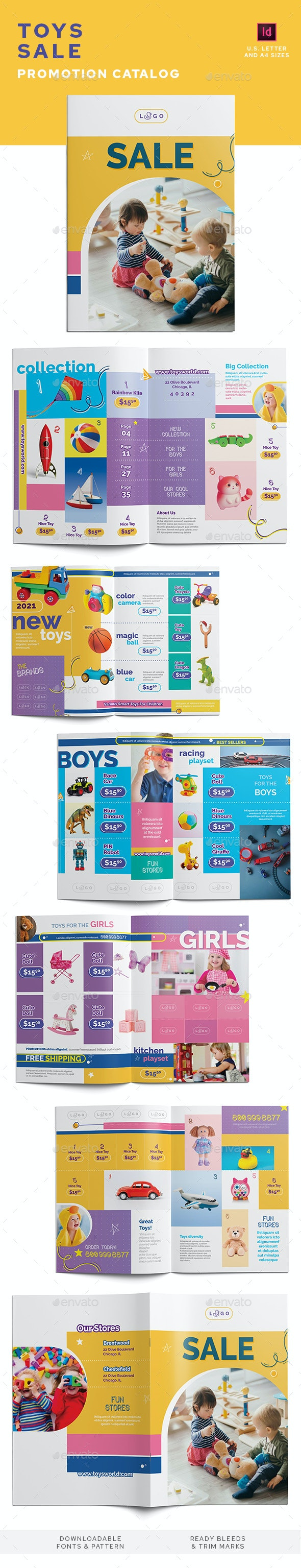 Toys Sale Promotion Catalog - Catalogs Brochures