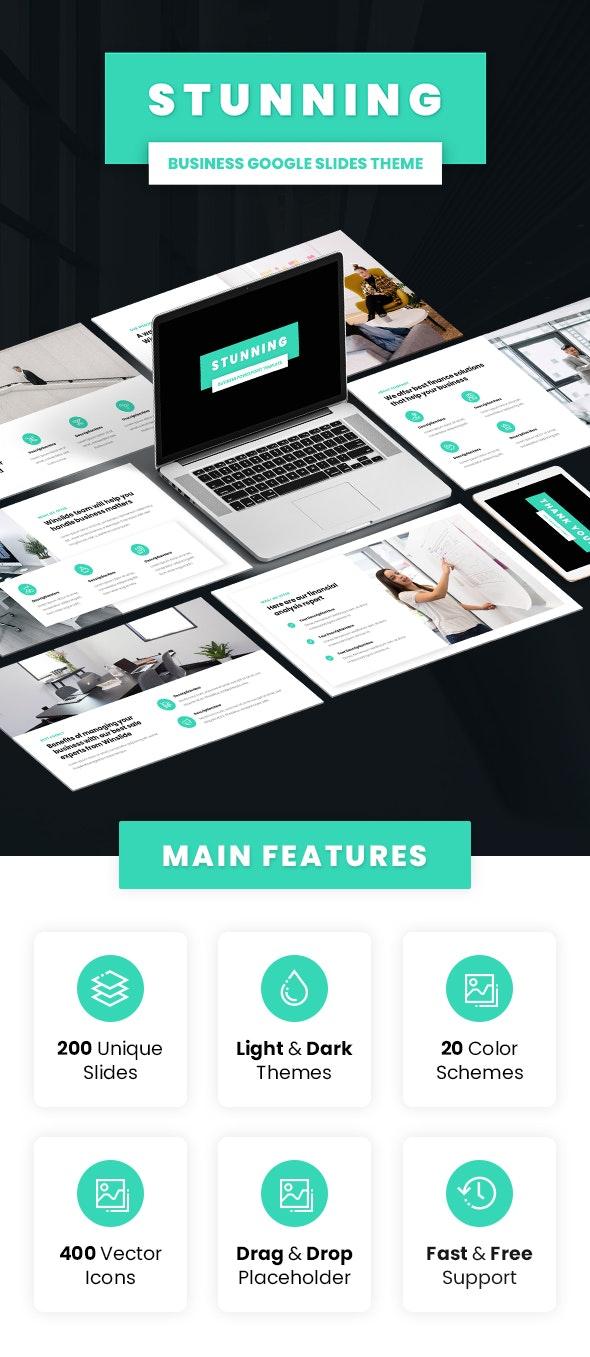 Stunning - Business Google Slides Theme - Google Slides Presentation Templates