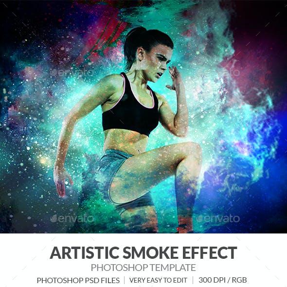 Artistic Smoke Photo Effect