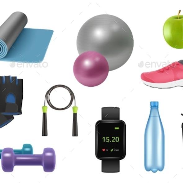 Realistic Fitness Equipment