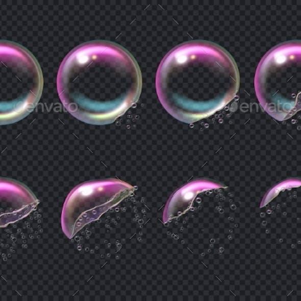 Burst Bubbles
