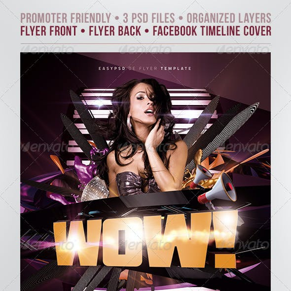 WoW Flyer Template