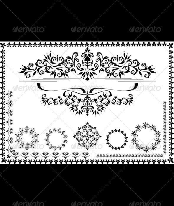 Decorative  Ornament Frame and Border - Borders Decorative
