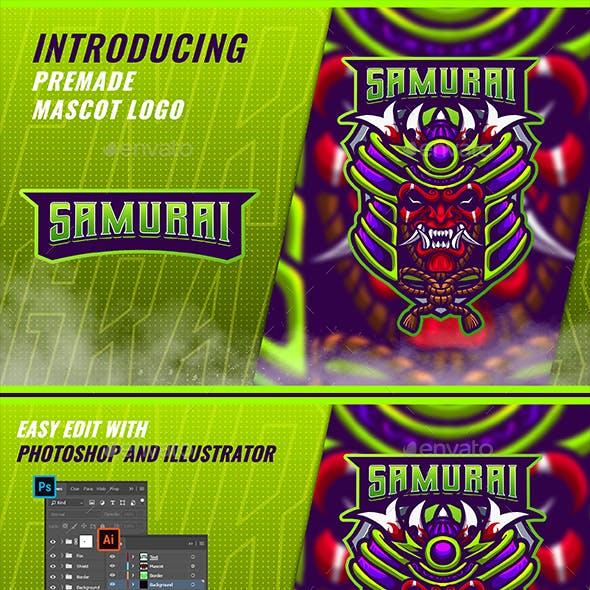 Samurai Oni - Mascot & Esport Logo