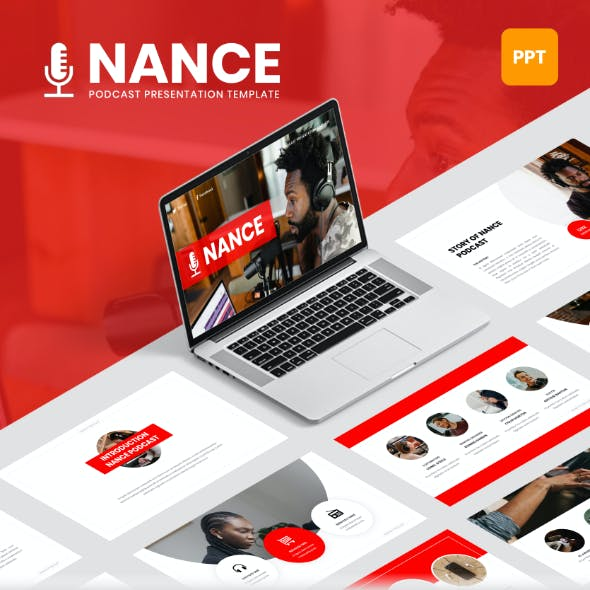 Nance - Podcast PowerPoint Template
