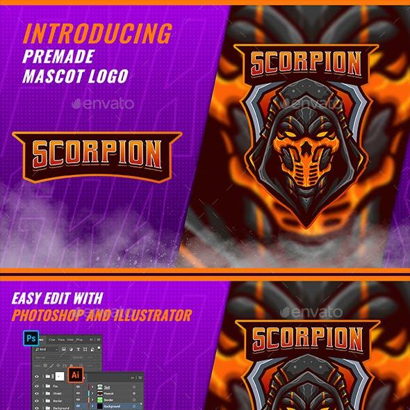 Scorpion Ninja - Mascot & Esport Logo