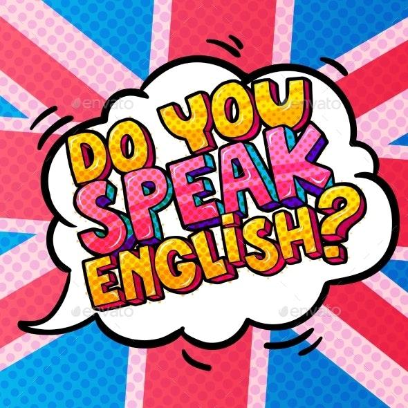 Concept of Studing English - Miscellaneous Vectors