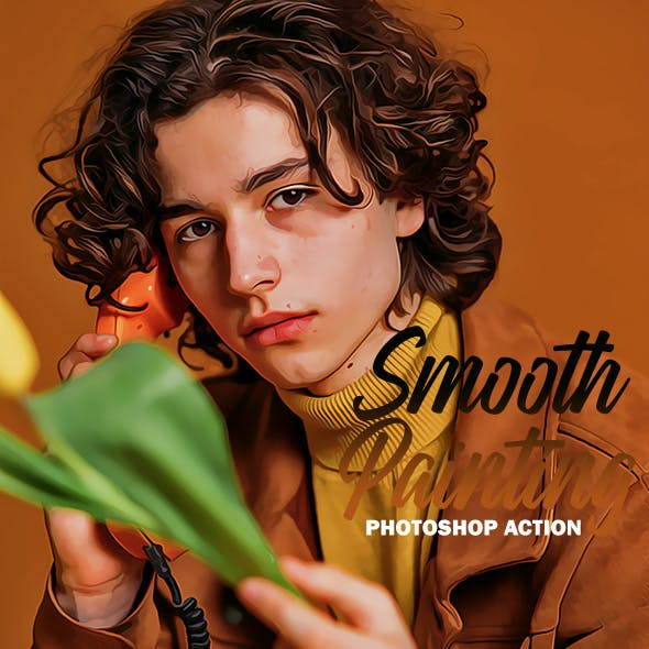 Smooth Painting - Photoshop Action