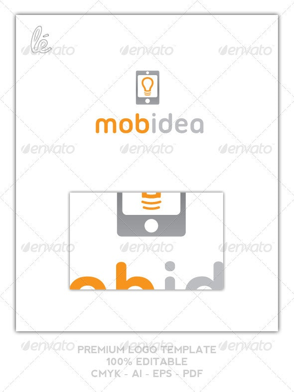 App Logo - Lighting Shop Logo - Bright Idea Logo - Objects Logo Templates