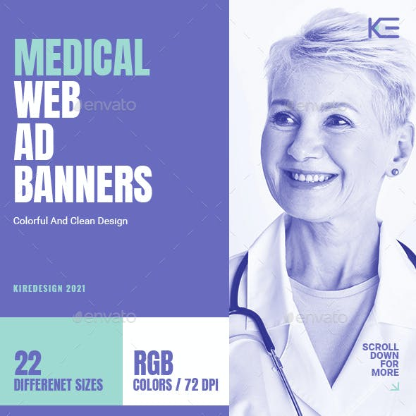 Medical Web Banners