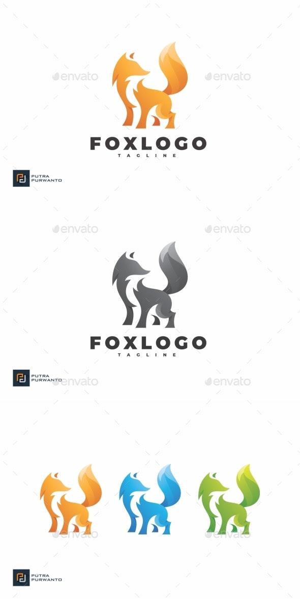 Fox - Logo Template - Animals Logo Templates