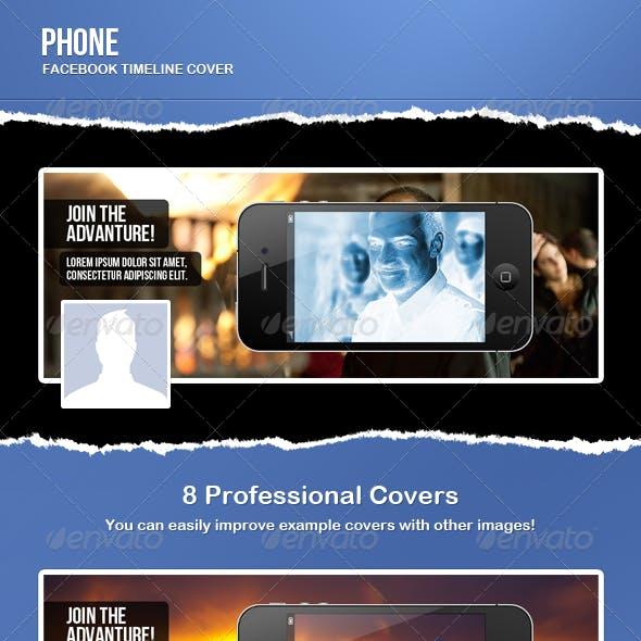 Phone Facebook Timeline Cover
