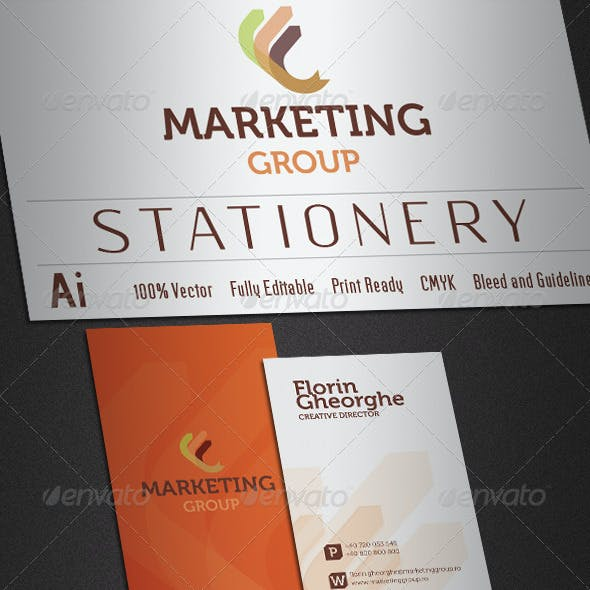 Marketing Group Stationery