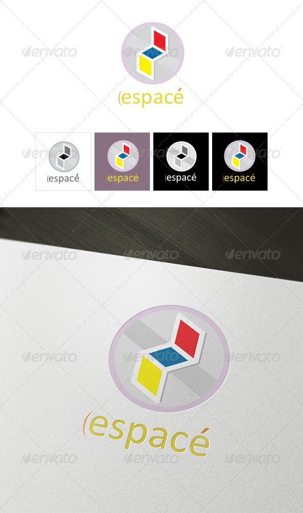 Espace Logo Template  - Vector Abstract