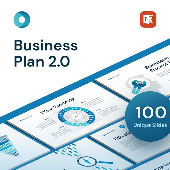 Business Plan 2.0 for PowerPoint Template