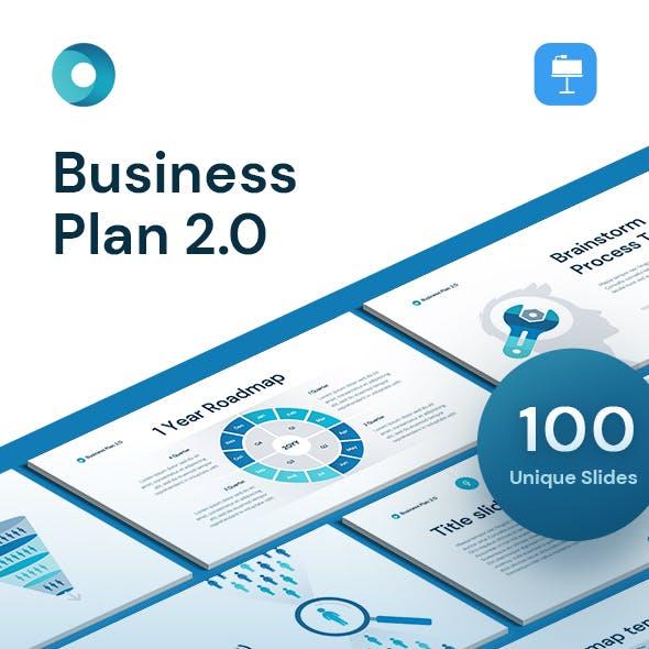 Business Plan 2.0 for Keynote