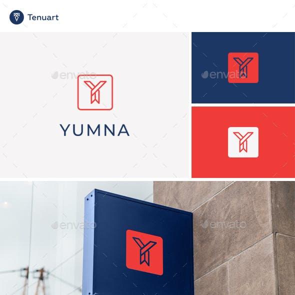 Yumna - Letter Y Logo