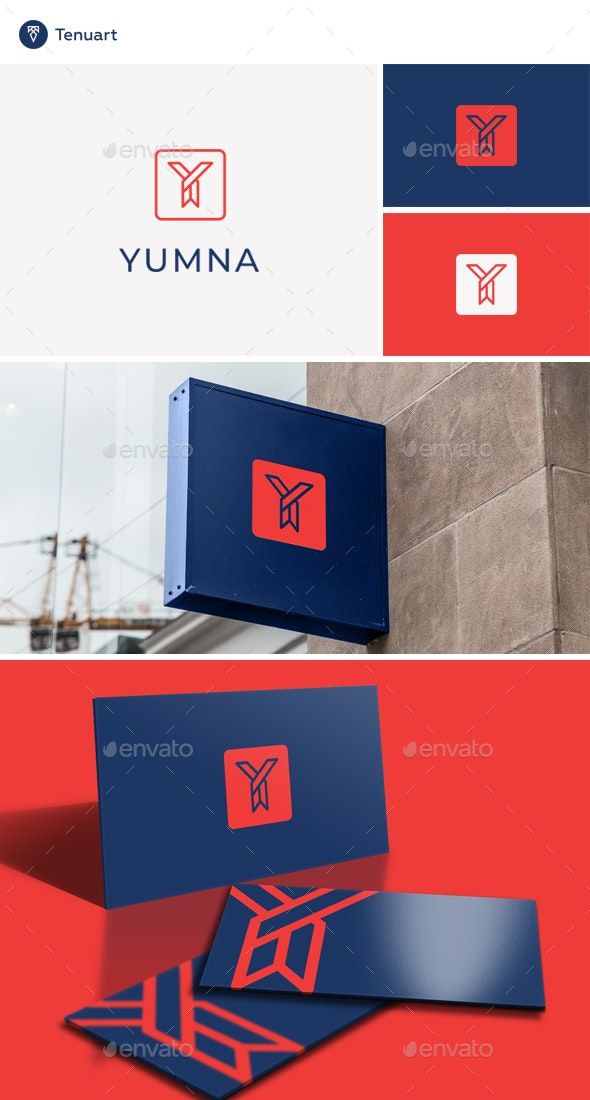Yumna - Letter Y Logo - Letters Logo Templates